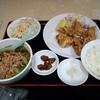 武州長瀬【福順】Bセット(若鶏の唐揚げ+台湾ラーメン) ¥750