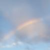 雲の間の虹