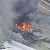 豪の商業施設に小型機墜落、搭乗の5人全員死亡