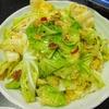 春キャベツの麺無ペペロンチーノ ダイエットレシピ