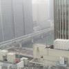 ■大阪に雪が降った