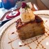 犬山≪喫茶れとろ≫ランチ鉄板ナポリタン&おしゃレトロなスイーツ林檎と安納芋のガトーインビジブル🍎