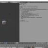 Blenderで利用可能なpythonスクリプトを作る その5(編集モードへの移行、オブジェクトモードへの移行)