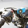 バイクスマホホルダーをクアッドロック モーターサイクルハンドルバーマウントに交換