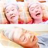 【母、誕生会──87歳】