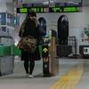 館山駅19時43分・・