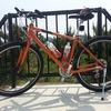 紀の川北岸自転車生活 バーエンドバーをGravierに装着して試走行する