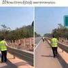 【ラオス高速道路】頻発する事故対策に新たな一手