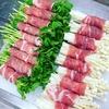 【豆苗】野菜は豚バラマジックでほぼ美味しくなるよね♥