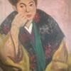 熊谷登久平が描いた妻の絵 つまり義母