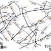 地理アウトプット 蛇崩周辺 野沢通りと龍雲寺通り その1