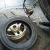 #バイク屋の日常 #ホンダ #ディオ #AF62 #タイヤ交換