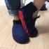 フェルトルームシューズ製作記録②ブーツ型シューズを作ってみた