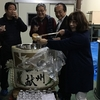 播州山崎、酒蔵の中で絞りたてのお酒を呑む会