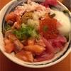 秋やま☆北新地900円ランチ〜新鮮で美味しい海鮮丼