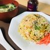 ジャスミン米の野菜たっぷり炒飯 @家ごはん