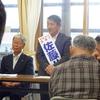 村民の声をよく聞き、村民とともに生活再建を目指す飯館村へー佐藤八郎候補奮戦記