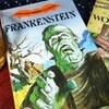 フランケンシュタインと英語の絵本