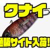【カエス】縦横無尽 テクニカルメタルバイブ「クナイ」通販サイト入荷!