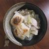 鶏の旨味が効いた簡単なお雑煮*ストウブレシピ