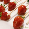 Strawberry candy recipe released!【イチゴ飴レシピ公開 / 딸기 사탕 레시피 공개】