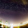 上海に台風18号接近、空が晴れたので星を撮影に。。。