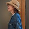 紫外線をカットして風で飛ばない夏帽子|ささ和紙で手編みしたロングセラーハット
