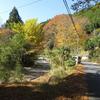 奈良県南部の山間をバイクで走る