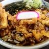またまた山形県東根市の「はくよう」に行き、下足天そばを食べました