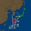 台風12号、九州の北の海上で熱帯低気圧に
