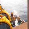 H30.10.18 3年生 1日海上実習を行いました。