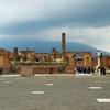 【イタリア観光!】火山灰に埋もれた古代都市ポンペイ遺跡を行く!