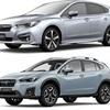 新型 インプレッサと、XVを、比較!違いは?燃費、サイズ、広さ、価格など。どっちが良い車?