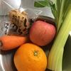 朝ジュース 3:野菜4種 果物3種 でさっぱり系