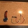 豆電池は豆電球をどれだけ長く点灯させられるか?