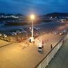 【にっぽん丸 2015】松山港の出港イベントはベランダから楽しむ[2日目-13]