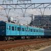第1182列車 「 和田岬線の主、103系R1編成を狙う 」