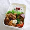 唐揚げお弁当 と 鶏つくねお弁当