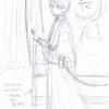同人誌製作『長い夜』珠世×愈史郎本①…表紙絵描くことにしました。あと悲しい近況