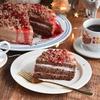 ラズベリーなダークチョコレートケーキで コーヒーマリアージュのクリスマス