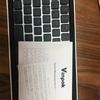 Makuakeでサポートしたキーボード「Taptek」が届いた