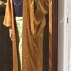 着物リメイクの長羽織 ほぼ完成