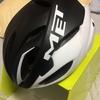 ヘルメットを新しくしました。+ポジション
