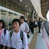 修学旅行1日目~東京駅に着きました~
