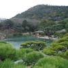 松がまるで毛糸のような栗林公園(香川県高松市)