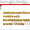 ジョンズ・ホプキンス大学のCOVID-19統計データ可視化&データを見た違和感