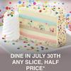 7/30ナショナルチーズケーキデーの無料/お得なDeal!@Cheesecake Factory, Denny's, and more!|2019