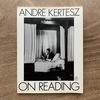 Andre Kertesz アンドレ・カルテッツ On Reading