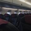 ジェイエア運航JAL2374便で長崎から伊丹までエンブラエル190型機普通席