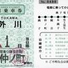 本日の使用切符:銚子電鉄 仲ノ町駅発行 弧廻手形1日乗車券
